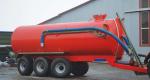 Машина для воды и редких органических удобрений с вакуумным насосом