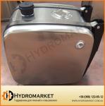Гидробак бокового крепления 160 л алюминиевый (62х40х67)